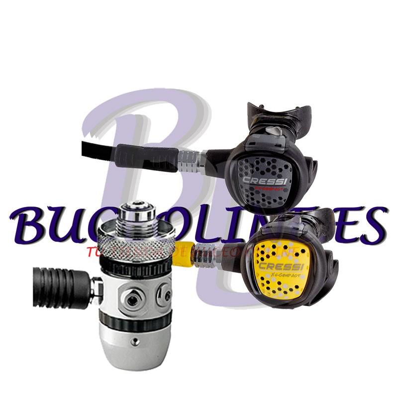 Regulador y Octopus XS COMPACT AC2 DIN