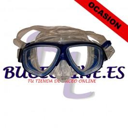 Máscara Buceo azul