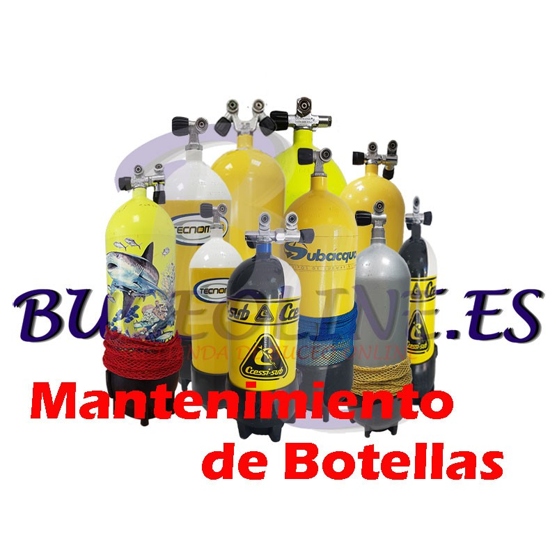 Mantenimiento de botellas